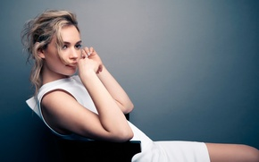 Wallpaper photoshoot, Glamour, Lily James, Lily James