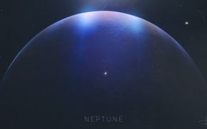 Wallpaper Space, galaxy, space, Neptune, galaxy, Venus, neptune, universe