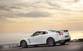Picture white, shore, 2011, R35, Egoist, Nissan GTR