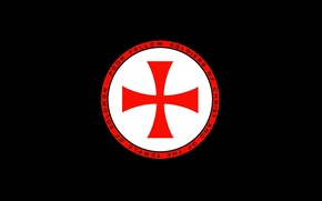Picture red, black, soldiers, cross, knight, crusader, temple, latin, Christ, knight Templar, cattolic, Solomon
