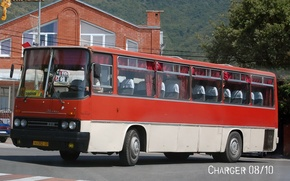 Picture transport, bus, Ikarus