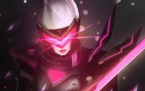 Picture League of Legends, fan art, Fiora, Grand Duelist, Project Fiora