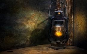 Picture lantern, antiquity, nail, The lantern