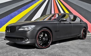 Picture graffiti, BMW, Matt, 7-Series