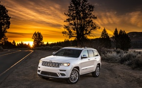 Wallpaper jeep, Grand Cherokee, SUV, Grand Cherokee, Jeep