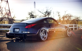 Picture Machine, Tuning, Nissan, Nissan, Car, 350z, Car, Tuning, Stance, Twin Turbo, Stens, 350з