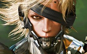Picture Ninja, Cyborg, Raiden, Metal Gear Rising: Revengeance, Platinum Games, Konami, Kojima Productions
