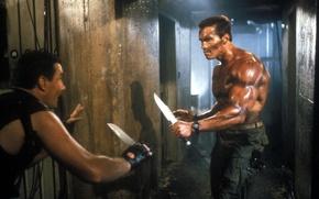 Picture Commando, Arnold Schwarzenegger, Arnold Schwarzenegger, John Matrix, Commando
