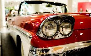 Picture machine, Ford, headlight, Fairlane