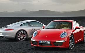 Picture 911, Porsche, cars, Carrera, red and white, sportcars, porsche wallpaper