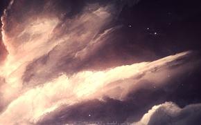 Picture space, nebula, space, stars, starkiteckt