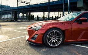 Picture the sky, Toyota, drives, side, GT86, Rocket, Bunny