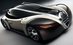 Picture Concept, Peugeot, supercar, car, the front, 2003, 4002