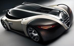 Picture Concept, Peugeot, supercar, car, the front, 2003, 4002