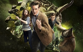 Picture space, Dr., dinosaurs, the series, Doctor Who, Doctor Who, Amy, Amy Pond, Amy Pond, Arthur …
