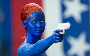 Picture Mystic, Jennifer Lawrence, X-Men, Days of future past
