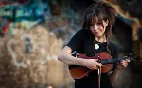 Picture violin, Lindsey Stirling, Lindsey Stirling, Violin, adorable