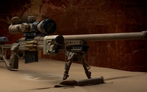 Wallpaper weapons, optics, sniper rifle, fry
