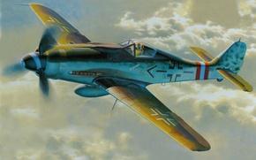 Wallpaper figure, art, FW - 190D