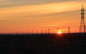 Wallpaper the sun, Crimea, beautiful, Dawn