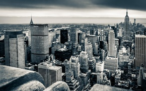 Picture the city, skyscrapers, USA, America, USA, Manhattan, NYC, New York City, new York, empire state
