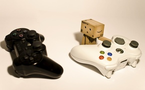 Wallpaper xbox 360, selects, danbo