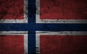 Picture texture, flag, Norway, Norway