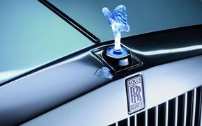 Picture Rolls-Royce, grille, emblem