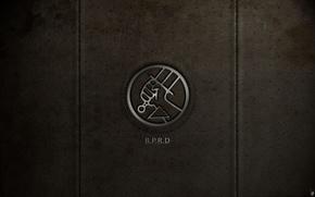 Wallpaper hand, texture, sword, leather, holes, emblem