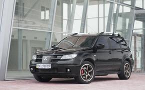 Picture adrenaline, powerful, Mitsubishi Outlander Turbo