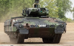 Picture armored, infantry, machine, German, combat, Puma, Protect tank