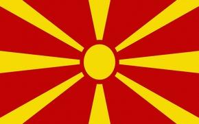 Picture The sun, Flag, Rays, Macedonia, Macedonia