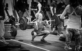 Wallpaper crossfit, gym, workout, weightlifting