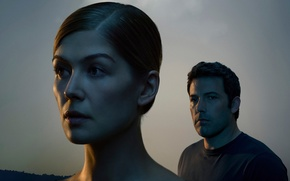 Picture Rosamund Pike, Ben Affleck, Disappeared, Gone Girl