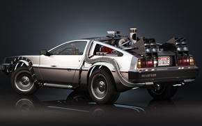 Picture Delorean, Back to the Future, Time machine, Time machine