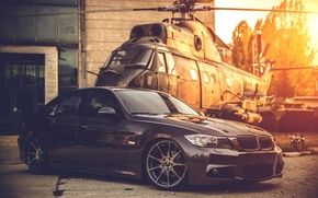 Picture BMW, Tuning, Helicopter, BMW, Drives, E90, Deep Concave