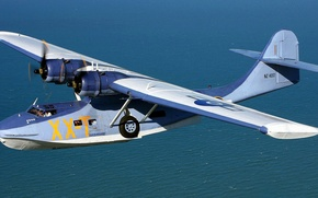 Picture water, flight, the plane, Catalina, hydroplane, PBY Catalina