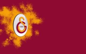 Picture wallpaper, sport, logo, football, Galatasaray SK