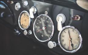 Picture retro, watch, panel, speedometer, devices, dashboards