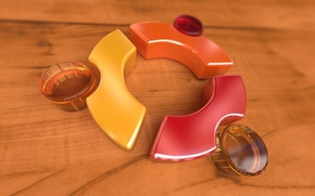 Wallpaper logo, linux, ubuntu