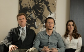 Picture New year, dad, Mark Wahlberg, Comedy, Mark Wahlberg, Will Ferrell, Will Ferrell, Linda Cardellini, Daddy's …