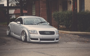 Picture Audi, Audi, tuning, before, silver, silver, tuning