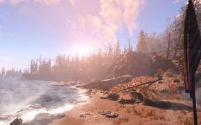Picture DLC, Supplement, Fallout 4, open world, Far Harbor, post-Apocalypse