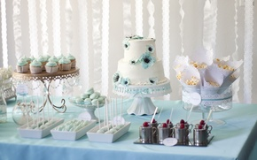 Picture holiday, cake, dessert, wedding, sweet, cupcakes