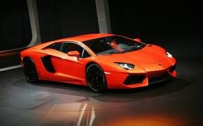 Picture red, Lamborghini, Lamborghini, red, Lamborghini, LP700-4, Aventador, Aventador