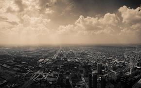 Picture City, Sky, Black