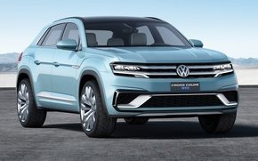 Picture Concept, Volkswagen, Blue, Cross Coupe GTE
