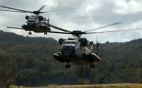 Wallpaper NATO, landing, landing helicopters