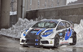 Picture ford, fiesta, rallycross, T.Foust