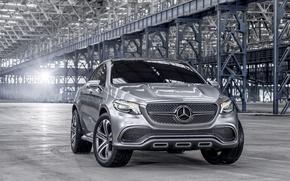 Picture Concept, grey, Mercedes-Benz, Mercedes, SUV, Silver